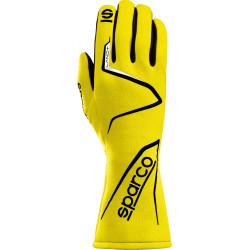 Mănuși Sparco LAND+ FIA omologare (cusătură interior) galben