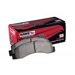 Plăcuțe frână fată Hawk HB633P.790, Street performance, min-max 37°C-400°C