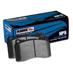 Plăcuțe frână fată Hawk HB711F.661, Street performance, min-max 37°C-370°C