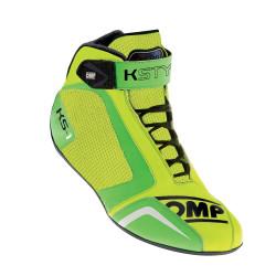 Încălțăminte OMP KS-1 galben / verde