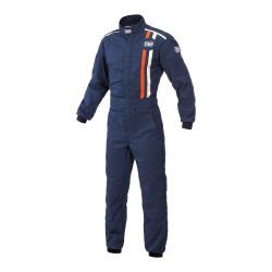 Combinezon FIA OMP CLASSIC albastru