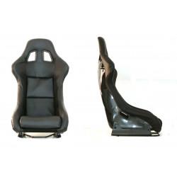 Scaun sport EVO PVC CARBON negru