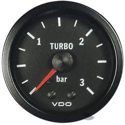 Ceas indicator VDO presiune turbo mecanic (0 -3 BARI) - Seria cockpit Vision