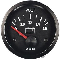 Ceas indicator VDO încărcare (Volt) - Seria cockpit Vision