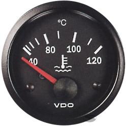 Ceas indicator VDO Temperatură apă - Seria cockpit Vision