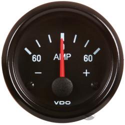 Ceas indicator VDO ampermetru - Seria Cocpit Vision