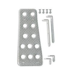 Aluminum footrest SPARCO 03780AN