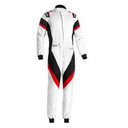 Combinezon FIA Sparco Victory white/black/red