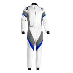 Combinezon FIA Sparco Victory white/gray/blue