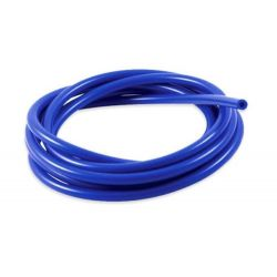 Furtun siliconic vacuum 4mm, albastru