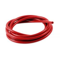 Furtun siliconic vacuum 4mm, roșu