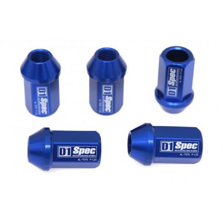 Prezoane și piulițe Set 20buc piulițe cu greutate redusă D1 Spec M12x1,5 | race-shop.ro