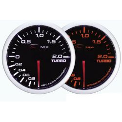 Ceas indicator presiune turbo DEPO Racing 1 - 2 BARI - seria WA 60mm
