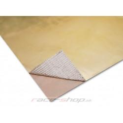 Zlatá samolepiacia tepelná izolácia Thermotec 61x61cm